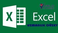 Uzmanlık Seviye Excel eğitimi